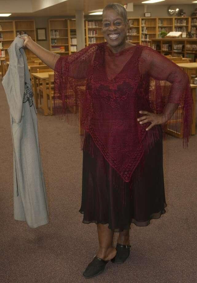 Virginia Chriesmon shows off her new look after loosing 132 lbs. Tim Fischer\Reporter-Telegram Photo: Tim Fischer