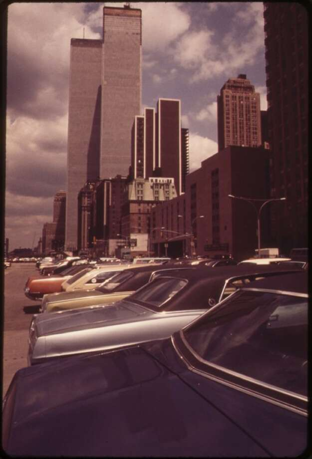 Photo: World Trade Center, May 1973 (U.S. National Archives, Will Blanche)