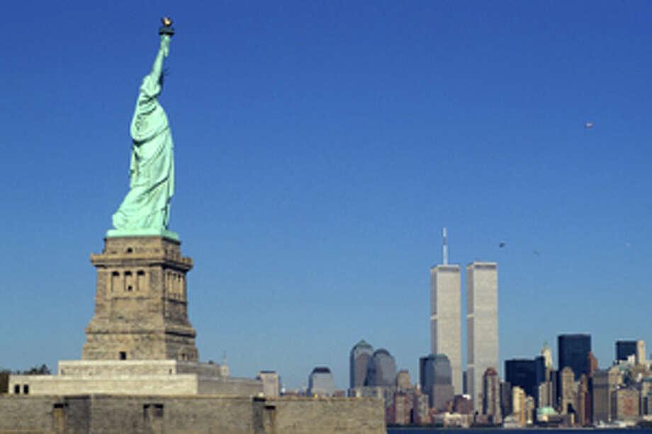 Statue of Liberty and New York City skyline, USA Photo: Goodshoot / Goodshoot RF