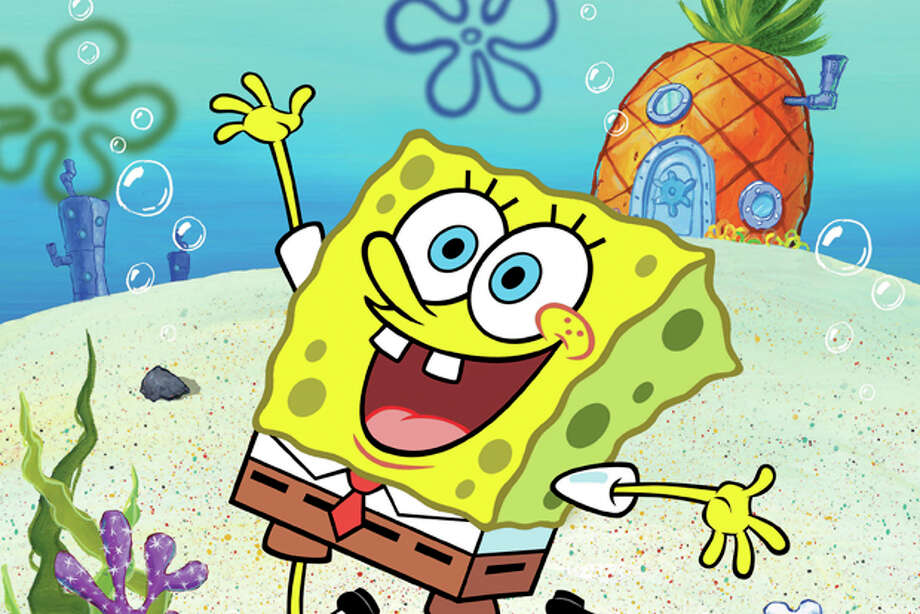 "FILE - This undated file image released by Nickelodeon shows a scene from the animated show ""SpongeBob SquarePants."" The cartoon character is in hot water from a study suggesting that watching just nine minutes of ""SpongeBob SquarePants"" can cause short-term attention and learning problems in 4-year-olds. (AP Photo/Nickelodeon, File) Photo: Anonymous / AP2010"