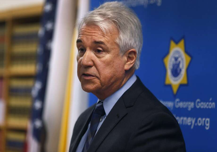 San Francisco District Attorney George Gascón is experimenting with a  computer algorithm to predict whether or not a defendant is a good  candidate for no-bail, pretrial release. Photo: Paul Chinn, The Chronicle