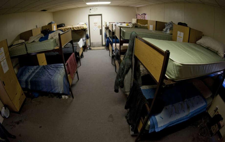 Mens domitory area for clients at the Midland Salvation Army. Tim Fischer\Reporter-Telegram Photo: Tim Fischer