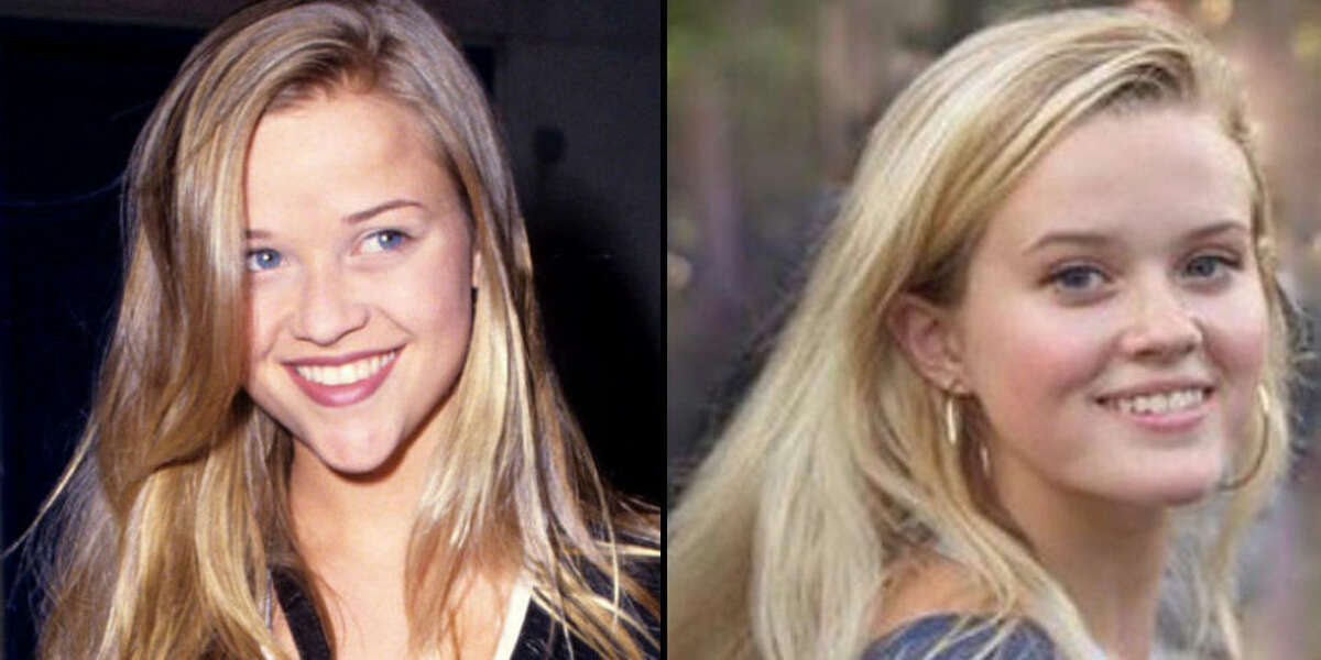 REESE WITHERSPOON AND AVA PHILLIPPE As teenagers.