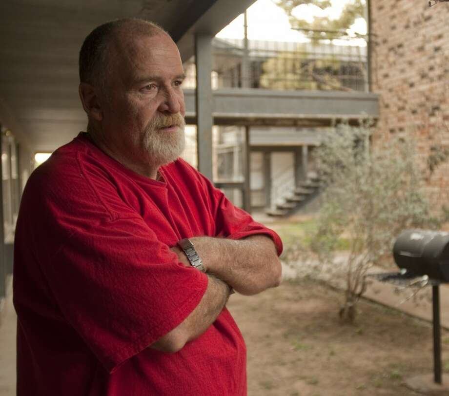 Timothy Sterle, 5 year resident at Ocotillo Apartment, talks about how he has no options to move anywhere on his fixed income. Photo by Tim Fischer/Midland Reporter-Telegram Photo: Tim Fischer