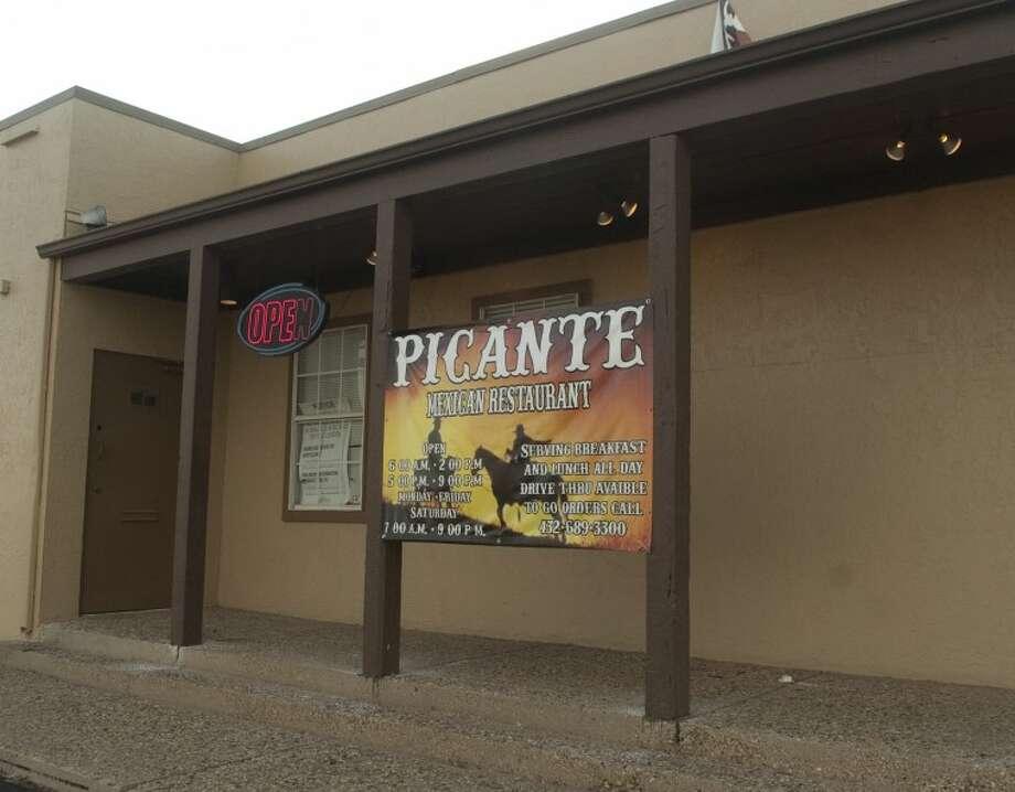 Picante restaurant. Photo by Tim Fischer/Midland Reporter-Telegram Photo: Tim Fischer