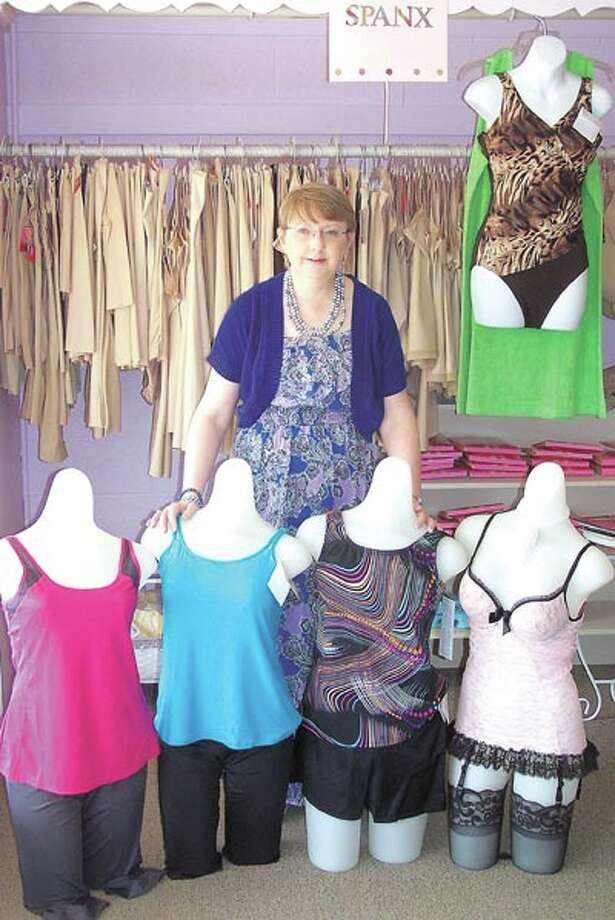 Swimsuits, comfortable undergarments and Amoena mastectomy products are always on hand at The Pennyrich Shop. See owner Sharon Wilcox at 311 Dodson Street.