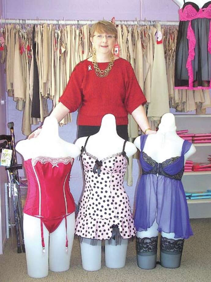 Pennyrich Shop owner Sharon Wilcox invites you to look over her wonderful selection of lingerie. The store is at 311 Dodson Street, in Old Town Midland.