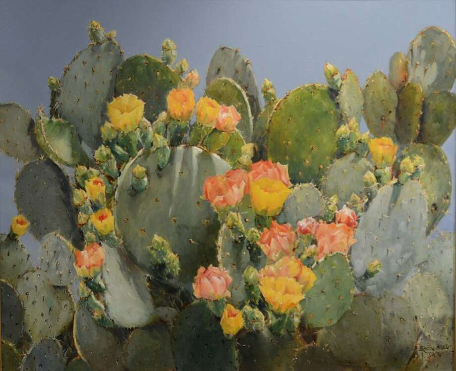 Cactus Beauty Mary Rasmussen Tim Fischer\Reporter-Telegram Photo: Tim Fischer