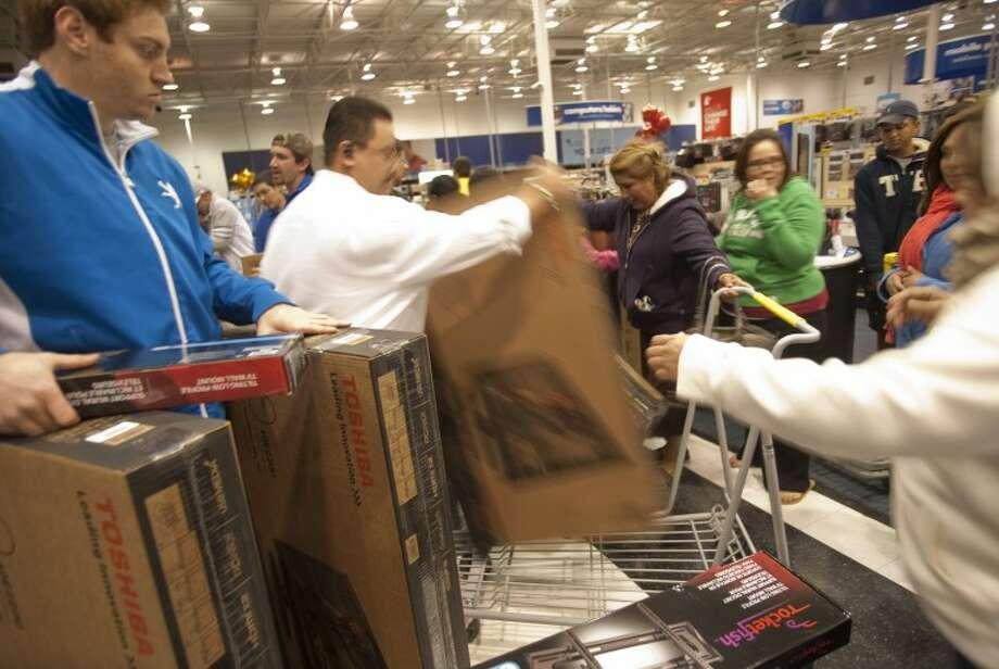 2012 Best Buy File Photo. Tim Fischer\Reporter-Telegram Photo: Tim Fischer