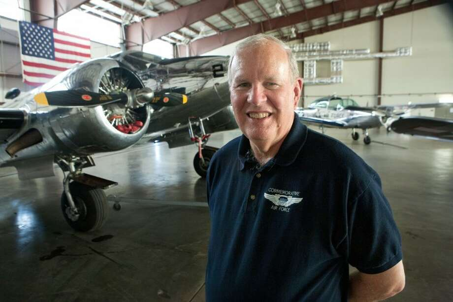 Bill Coombes is a Commemorative Air Force pilot, former CAF chief of staff and son of a World War II aviator. Photo: Cindeka Nealy/Reporter-Telegram