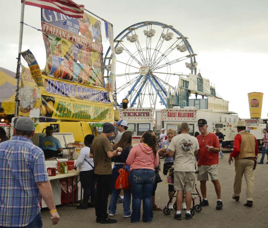 Midland County Fair Friday evening. Tim Fischer\Reporter-Telegram Photo: Tim Fischer