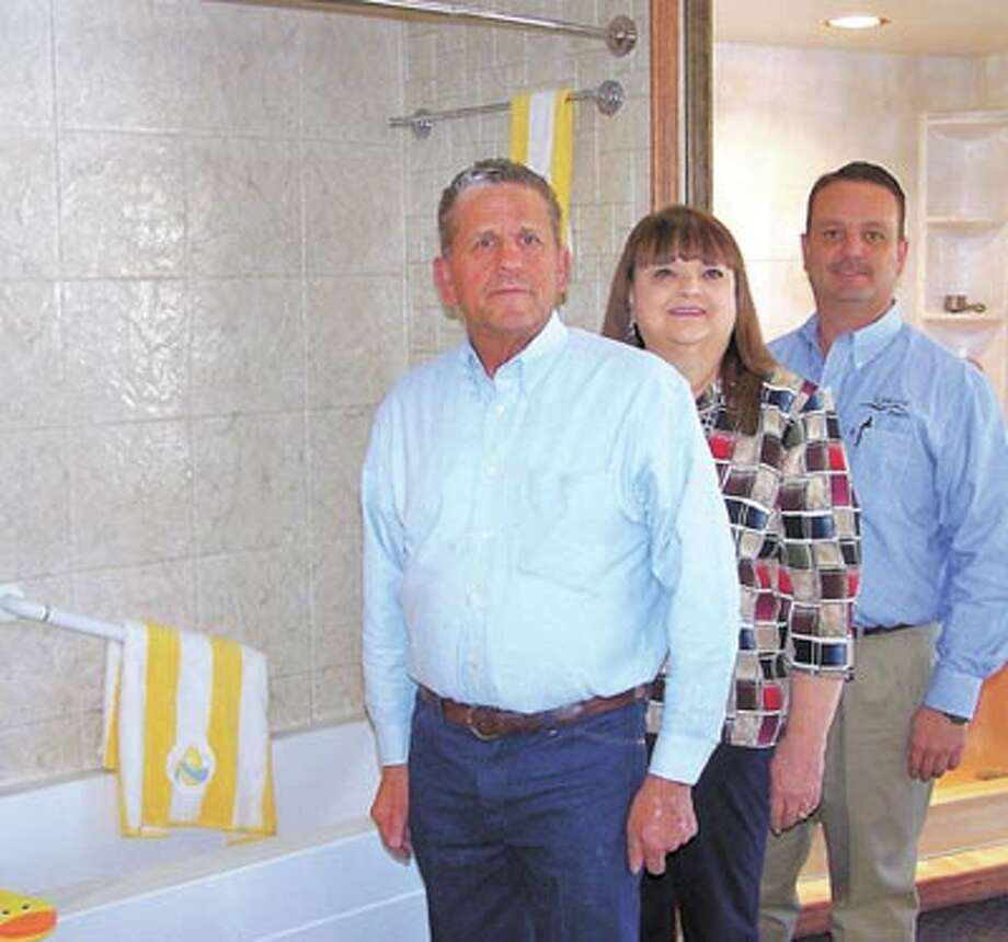 Luxury Bath owners Lonnie, Nancy and Clayton Oldham give homeowners unsurpassed quality and satisfaction in bath remodels. Call 218-6448 to learn more or see their display at Midland Park Mall.