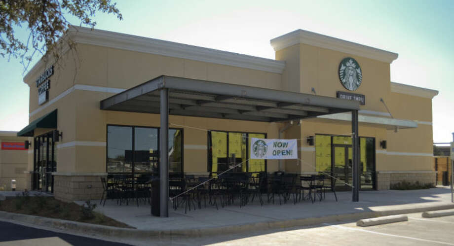 The new Starbucks in the Cornerstone Shopping Center is now open. Tim Fischer\Reporter-Telegram Photo: Tim Fischer