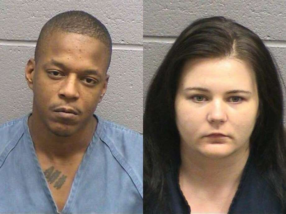 """Joshua Emil Barclay, 32, of Houston, left, was arrested Aug. 20 on a second-degree felony charge of sexual assault of a child under 17 years of age. Meanwhile, Elizabeth N. Stewart, of Deer Park, right, was arrested Aug. 20 on a first-degree felony charge of compelling prostitution for a girl under 18 years of age. Barclay acted as a """"pimp"""" for an underage girl, while Stewart took pictures of the girl and helped promote her as a prostitute on the Internet. Barclay engaged in sexual activity with the girl in order for her to stay in his hotel room, according to the arrest report. If convicted, Barclay faces up to 20 years in prison and Stewart faces five to 99 years in prison."""