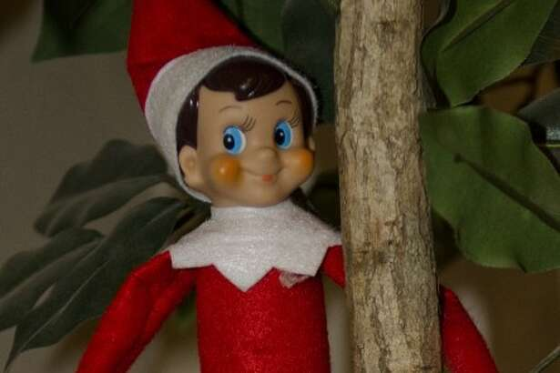 Elf on the Shelf is known to move around the house, hiding in different places. Tim Fischer\Reporter-Telegram
