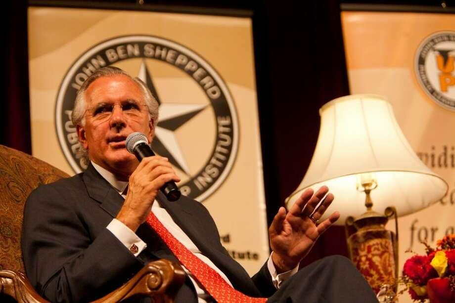 Richard W. Fisher, President of the Dallas Federal Reserve. Photo: Photographer: Rafael Aguilera