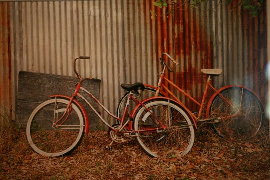 "Diane Newland's photograph titled ""Vintage Bicycles."" Cindeka Nealy/Reporter-Telegram Photo: Cindeka Nealy"