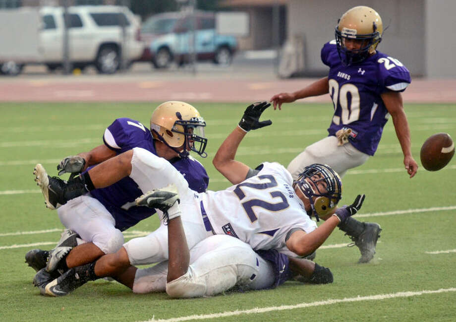 Midland High Spring Game Story Photo: Photo By James Durbin