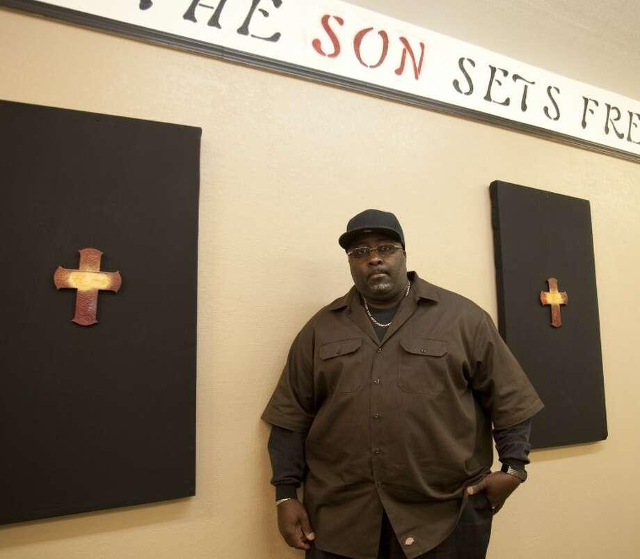 Pastor James Williams, with After God's Own Heart Restoration Church. Tim Fischer\Reporter-Telegram Photo: Tim Fischer