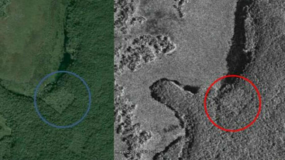 William Gadoury's satellite imaging of a Mayan city