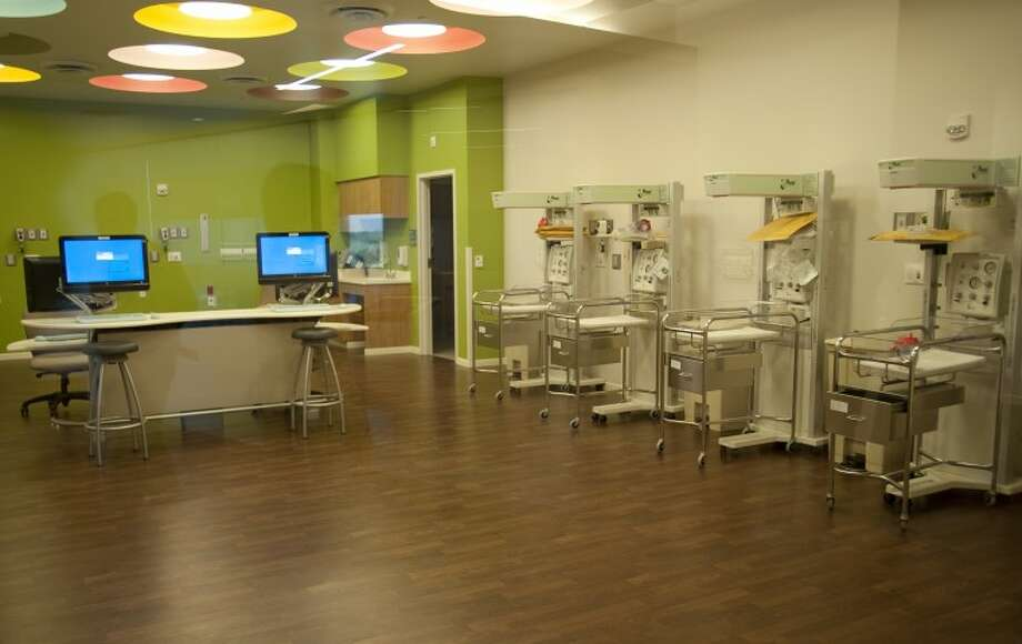 The new nursery at MMH patient tower. Tim Fischer\Reporter-Telegram Photo: Tim Fischer