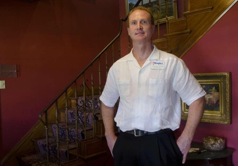 Jason Hudson, director of nursing for HospiceMidland. Photo by Tim Fischer/Midland Reporter-Telegram Photo: Tim Fischer