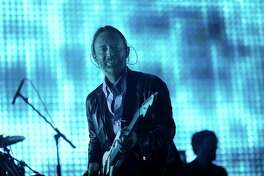 FILE ? Thom Yorke of Radiohead performs on What Stage during the 2012 Bonnaroo Music and Arts Festival in Manchester, Tenn., June 8, 2012. In its ninth studio album, ?A Moon Shaped Pool,? Radiohead worries about environmental devastation, mass thoughtlessness and love gone cold. (Chad Batka/The New York Times)