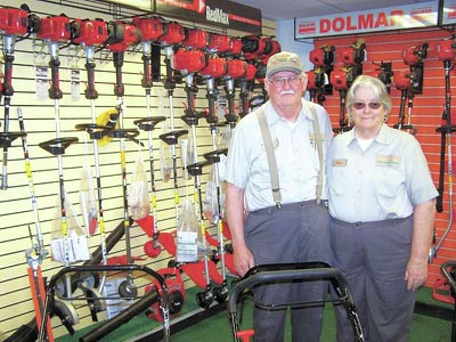 Southwest Lawnmower's Carl and Nona Hollums invite you to see their great selection of RedMax handheld power equipment. They also suggest you test drive a Country Clipper zero-turn mower. They're at 3105 West Front, across from McCoy's.