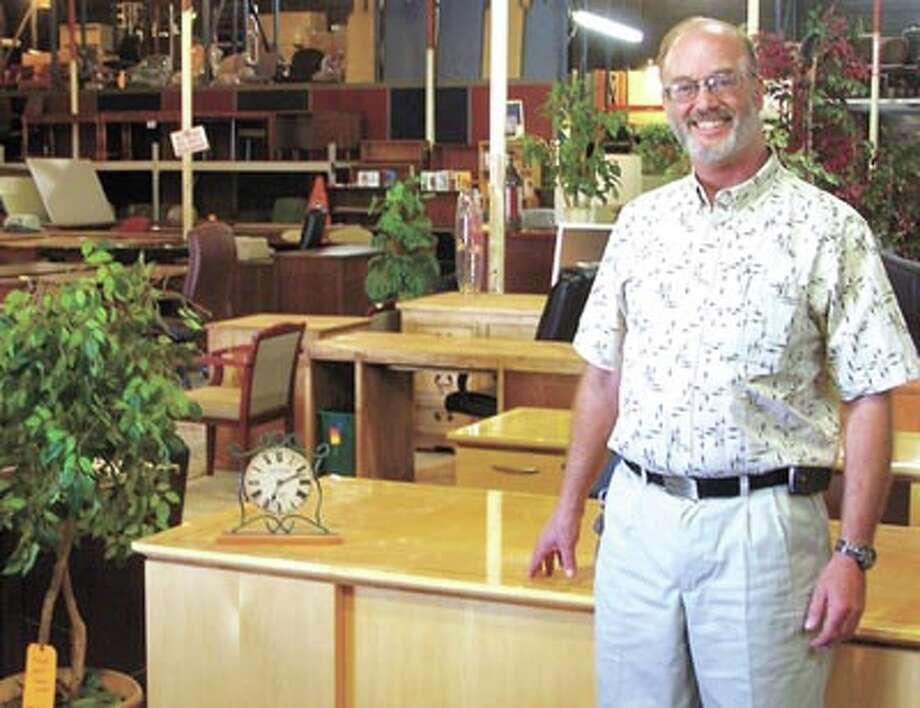 New A-1 Office Furniture General Manager Bob Westbrook is looking forward to moving forward and helping people with quality, name-brand office furniture—new and used. A-1 is at 401 West Industrial, in the big yellow building.