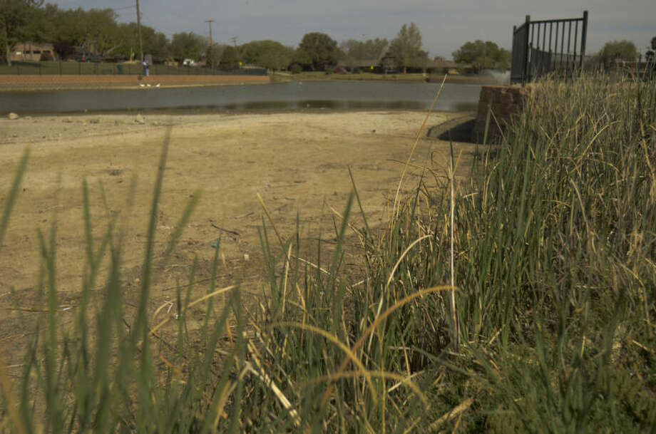 (File Photo) Wadley Barron Park is very dry already this year. Tim Fischer\Reporter-Telegram 4-12-13 Photo: Tim Fischer