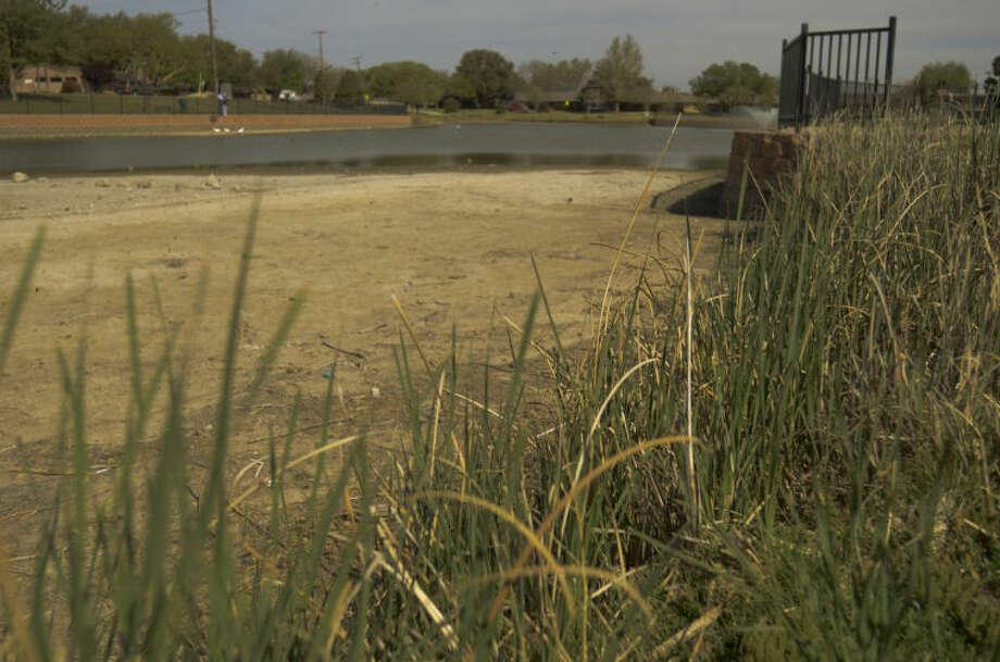 (File Photo) Wadley Barron Park is very dry already this year. Tim Fischer\Reporter-Telegram 4-12-13 Photo: Tim Fischer