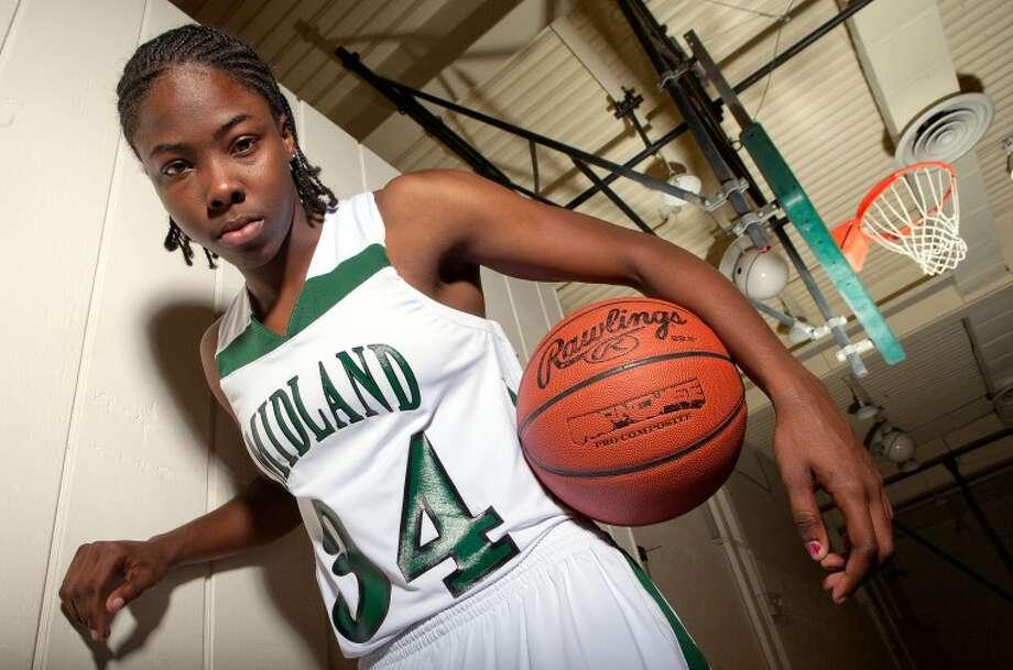 Danesha Long is a returning guard for Midland College. Cindeka Nealy/Reporter-Telegram Photo: Cindeka Nealy