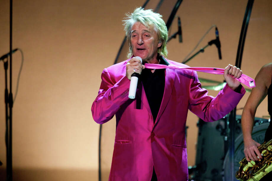 Music legend Rod Stewart performs during the high-dollar opening gala for UTPB's Wagner Noel Performing Arts Center. Photo: Photographer: Rafael Aguilera / Copyright: Rafael Aguilera