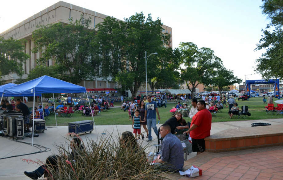 The 26th annual Mex-Tex Family Fiesta in downtown Midland Friday evening. Photo: James Cannon/MRT