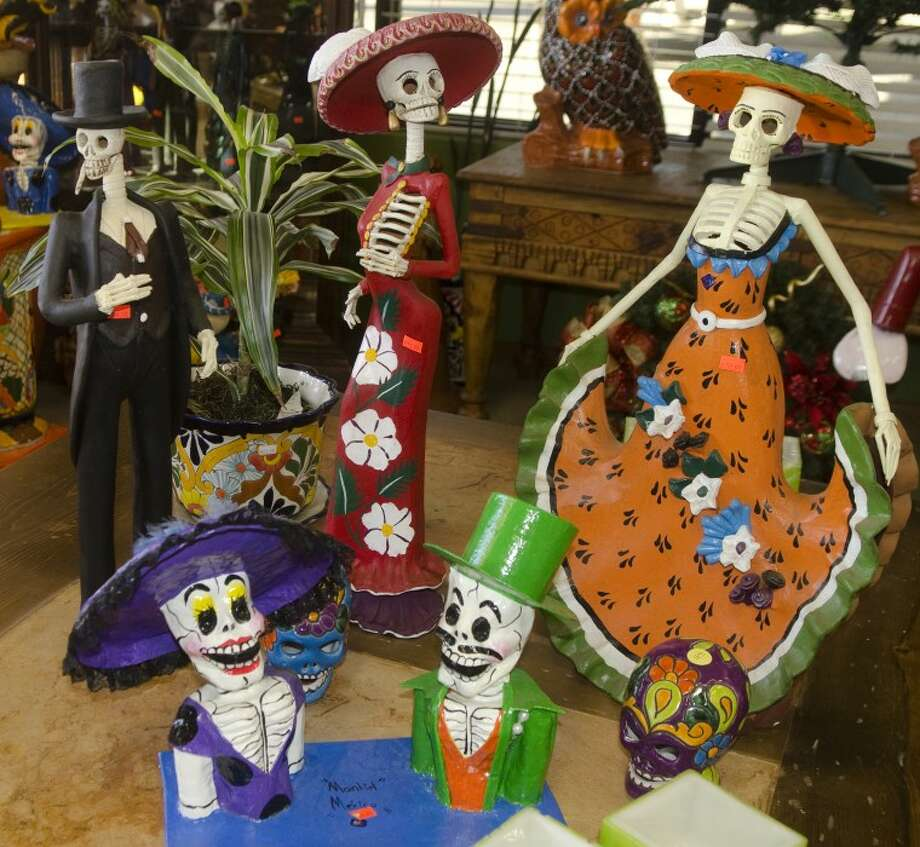 Day of the Dead items. Photo by Tim Fischer/Midland Reporter-Telegram Photo: Tim Fischer