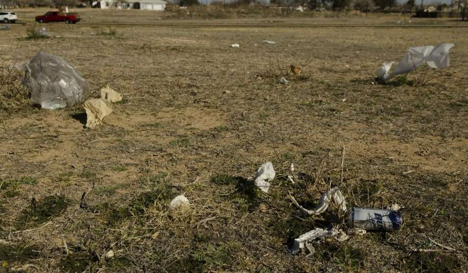 The city of Midland is looking into the options of banning plastic bags to help decrease trash blowing around town. Photo by Tim Fischer/Midland Reporter-Telegram Photo: Tim Fischer