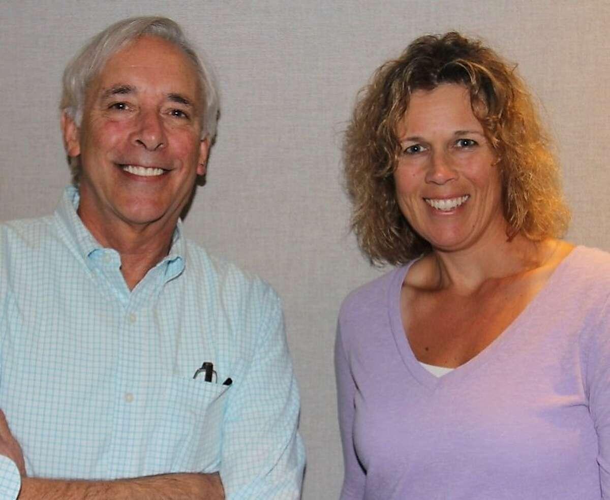 Jack Kulp and Carolyn McArdle, morning hosts on The Breeze radio.