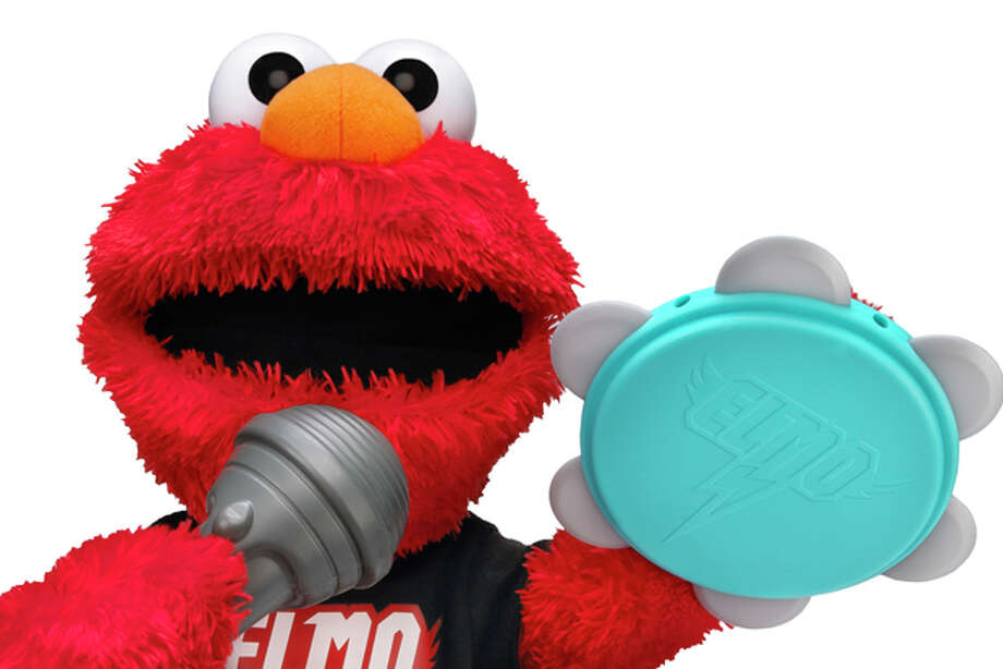 """""""Let's Rock Elmo"""" from Hasbro's Playskool allows kids age 18 months & up to form a rock band with their favorite resident of Sesame Street. Photo: Playskool"""