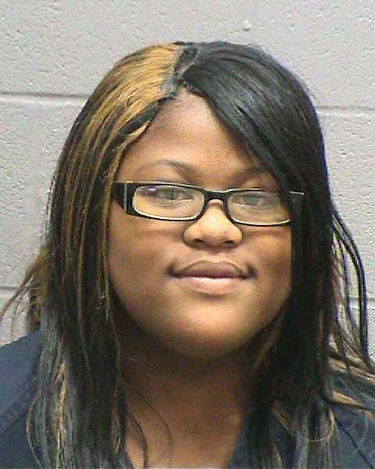 Midland High School student Bershunta J. Frazier was in jail Friday night on a $7,500 bond after she was arrested for allegedly assaulting a Midland High School teacher.