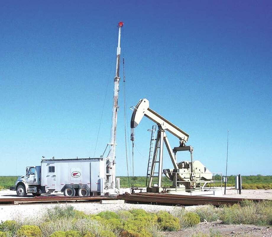 Eliminate the guesswork—Cardinal Surveys' TRAC-III logging gives real-time information about pay zones, water zones and other data from producing beam-pumped wells. Call Cardinal at 580-8061 to see how they can help you.