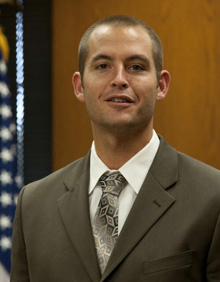 New men's basketball coach for Midland College Jordan Dreiling. Tim Fischer\Reporter-Telegram Photo: Tim Fischer