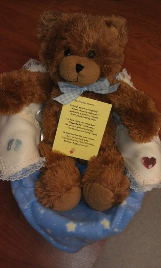 Women with ABC Ministry create personalized bears with the recorded heartbeat of a family's baby to give to the grieving family after they lose a child through a high-risk pregnancy or birth. Photo: Courtesy Photo