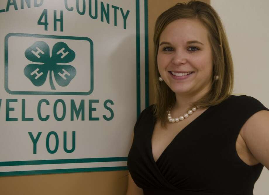 Kayla Schwertner is the new extension agent over the 4-H and youth development programs for the Texas AgriLife Extension Service in Midland County. Photo: Tim Fischer/Reporter-Telegram