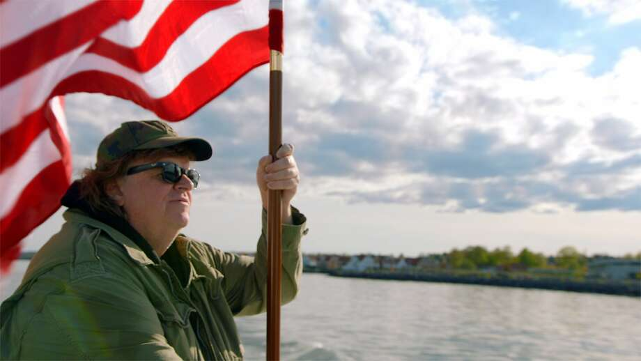 "Michael Moore in ""Where to Invade Next,"" which he directed. Photo: Dog Eat Dog Films"