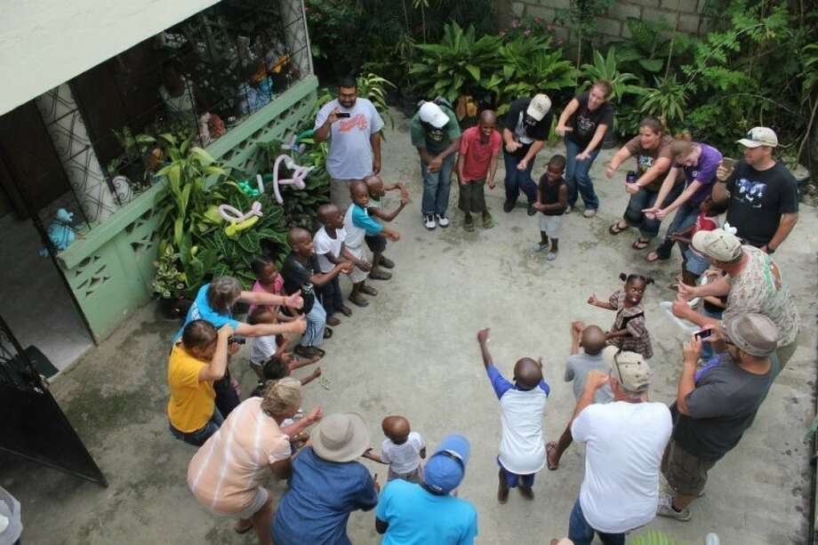A team from Stonegate Fellowship Church traveled to Haiti this fall. Photo: Courtesy Photo