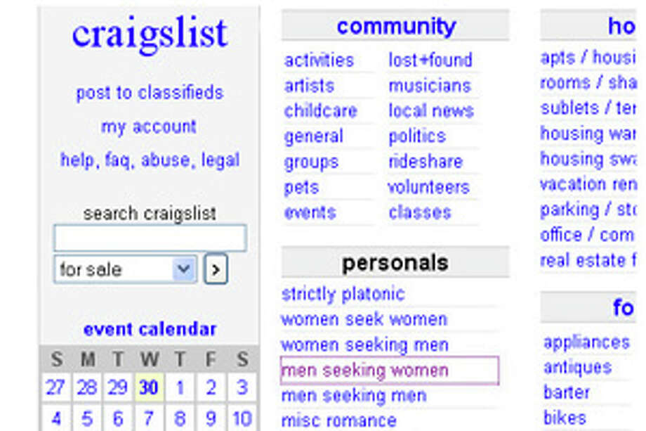 chronicle classifieds craigslist