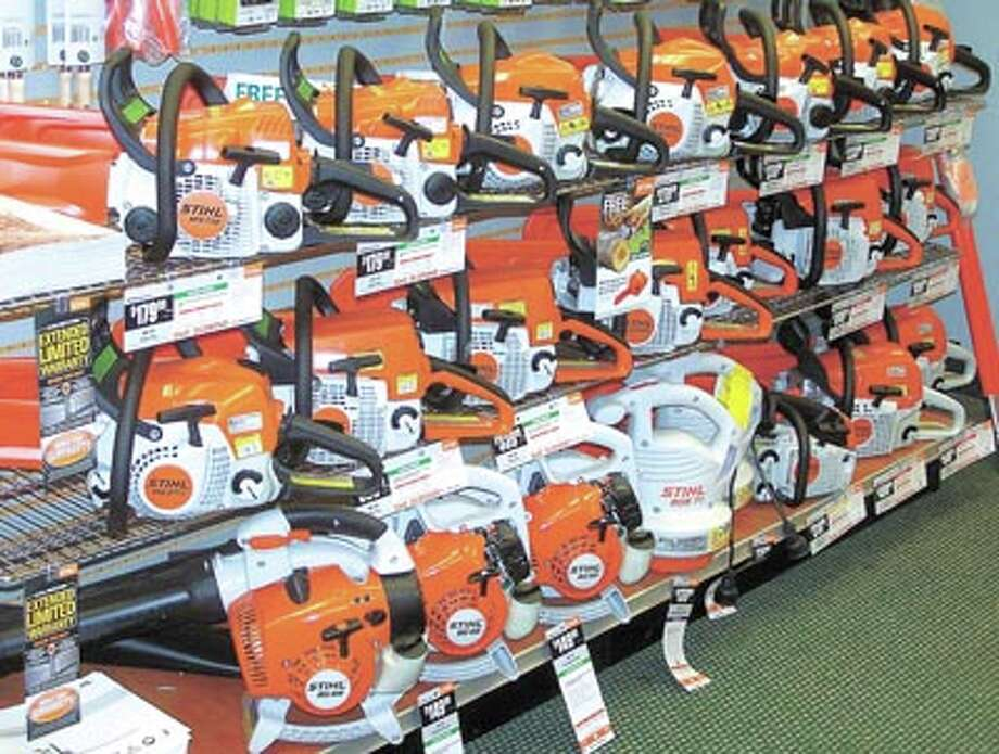 These Stihl power hand tools and more are now ready for you at Metro Equipment, 12808 W. I-20 E, just this side of Odessa. Go west on I-20, exit at FM 1788 and continue on for about four miles.