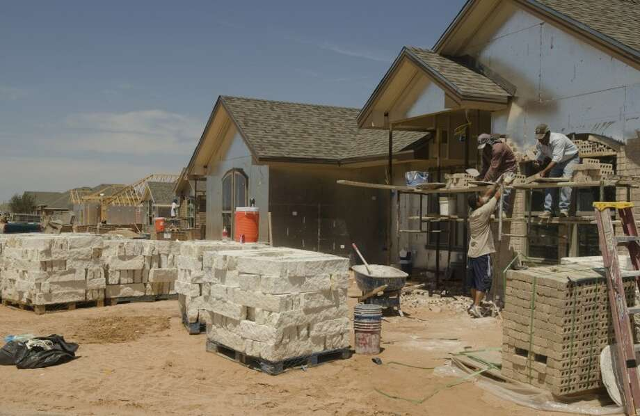 (File Photo) New homes being built in the Mockingbird Oaks development off N. Garfield. Tim Fischer/Reporter-Telegram Photo: Tim Fischer