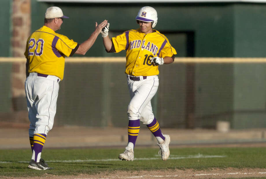Midland High junior Lance White earned 2-5A first team all-district honors as a utility player. James Durbin/Reporter-Telegram Photo: JAMES DURBIN