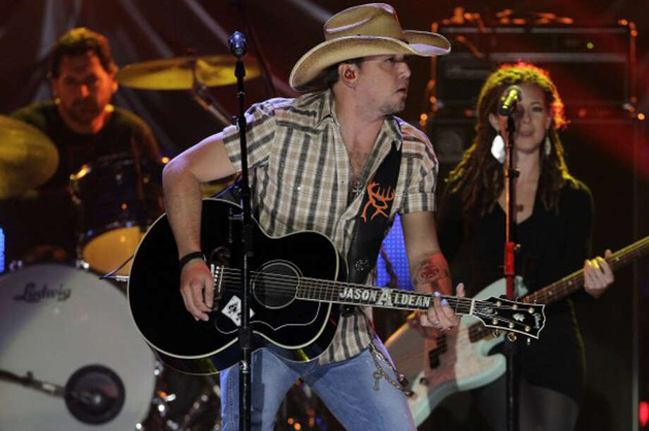 Jason Aldean's Dirt Road Anthem is the year's most popular jukebox song, according to TouchTunes. Photo: Associated Press